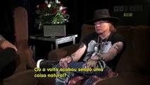 Guns N Roses Interview 2016: Axl Rose Talks About Slash, Izzy Stradlin & Steven Adler