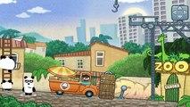 Dans le enfants pour clin doeil dessin animé série Trois pandas géants pandas géants jeu 3 pandas géants au Brésil 3