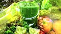 Los beneficios de los jugos verdes