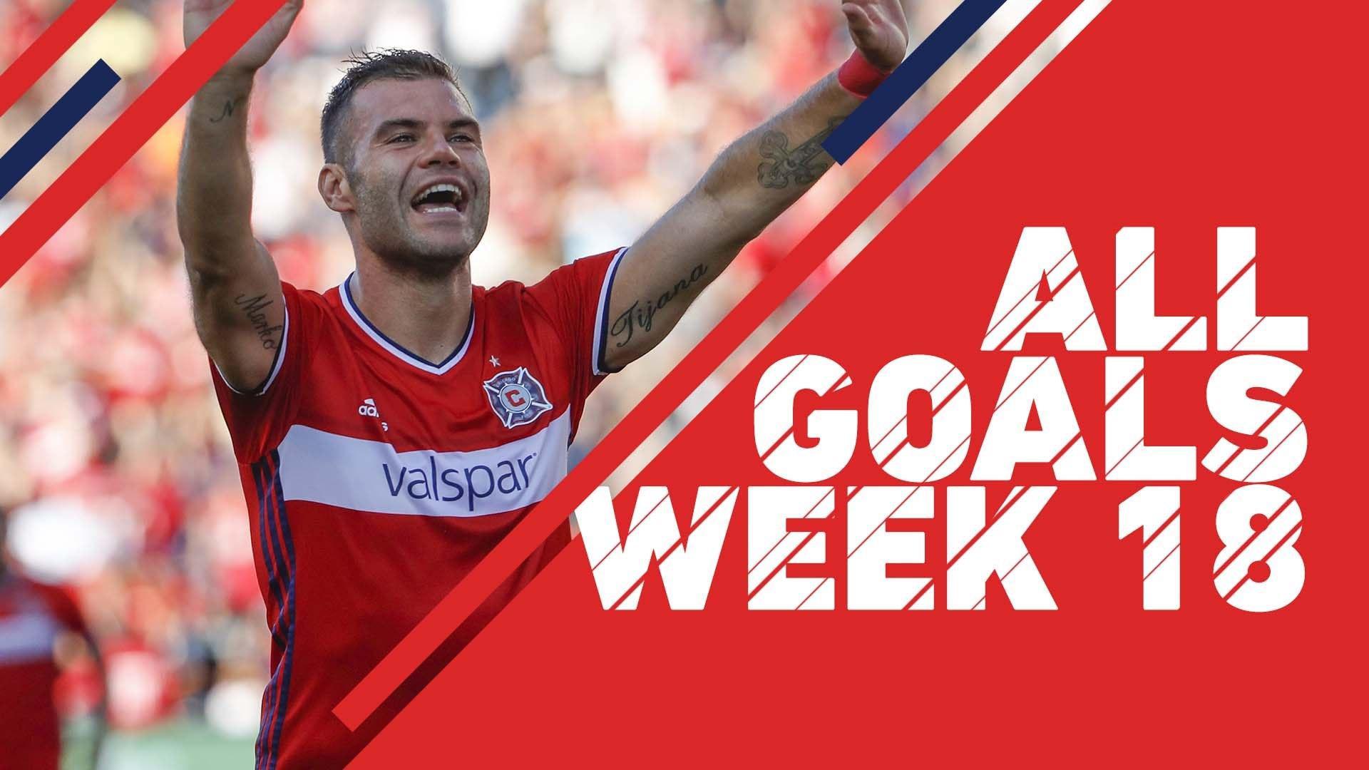 Watch: Every goal scored in Week 18 of the 2017 MLS regular season