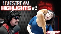 BEST LIVESTREAM HIGHLIGHT MOMENTS COMPILATION #3 JULY 2017 ( drdisrespect, Grimmmz, Others )