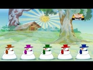 Nursery Rhyme - Five Tubby Snowmen