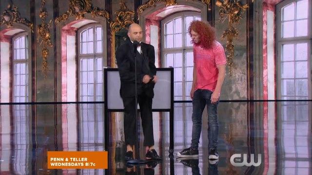 Penn & Teller: Fool Us Season 4 Episode 3 - Teller Flips a Bird   HD Online
