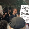 Protesters at Kensington Town Hall Demand Justice for Grenfell Fire Victims