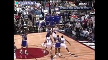 Karl Malone vs Arvydas Sabonis Full Duel 1996 WCR1 Game 3 Malone With 35, Sabonis With 27!