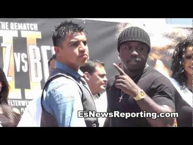 Andre Berto & Victor Ortiz Faceoff
