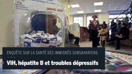 Plus d'un tiers des immigrés d'Afrique Subsaharienne sont contaminés par le VIH en France