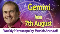 Gemini Weekly Horoscope from 7th August - 14th August 2017