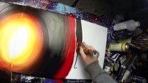 Acryliques par par Comment Apprendre peindre peinture à Il vidéo avec Abstr antigone john beckley