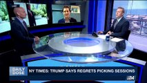 DAILY DOSE | NY times: Trump says regrets picking sessions | Thursday, July 20th 2017