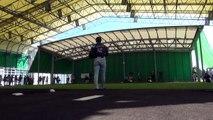 いざ、世界の舞台へ。侍ジャパン石川歩投手のブルペンにカメラが接近【広報カメラ】