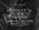 Os Assassinos da Rua Morgue (Murders in the Rue Morgue - 1932), com Bela Lugosi, filme completo, legendado em português