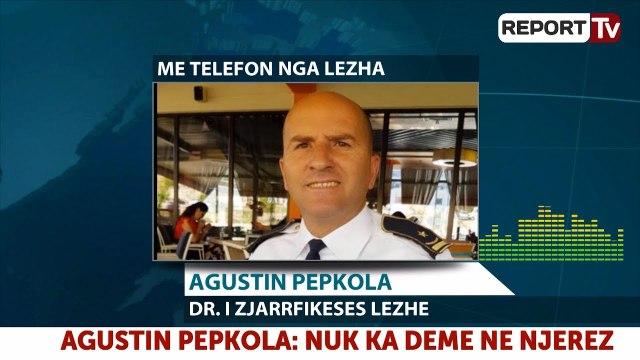 Situata nga zjarret në Lezhë, flet drejtori zjarrefikeses Agustin Pepkola