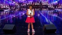 America's Got Talent: L'incroyable prestation de Angelina 9 ans qui depuis hier soir bouleverse les Etats-Unis