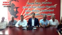 """(20 Temmuz 2017) CHP İL BAŞKANI KESKİN: """"HAİN TERÖR  ÖRGÜTÜ  İLE  YAN YANA  GELEMEYİZ"""""""