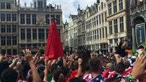 Tomorrowland sur la Grand-Place de Bruxelles