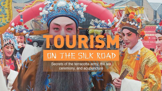 Tourism on the Silk Road. Secrets of the terracotta army, the tea ceremony, and acupuncture (Trailer) Premiere 21/7