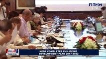NEDA completes Philippine Development Plan 2017-2022