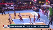 SPORTS NEWS: NLEX Warriors' balanced attack led to victory
