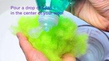 How to Make Felt Balls DIY using Wet Felting (Wet Felting 101 - Easy Tutorial)