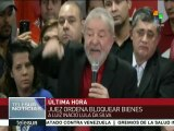 Banco Central de Brasil bloquea bienes de Luiz Inácio Lula da Silva