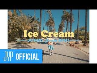 """JUNHO (From 2PM) """"Ice Cream"""" M/V"""