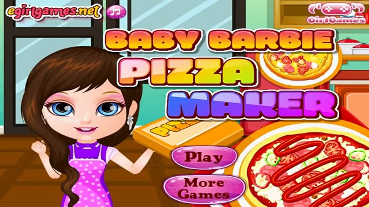 Baby Barbie Pizza Maker Baby Game Video Games For Girls Online Video Dailymotion