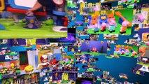 Пеппа свинья автоматический проигрыватель Школа дом Лего блоки Игрушки видео распаковка