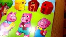 Fée pour de apprentissage petit les cochons histoire Conte le le le le la Trois les tout-petits Puzzle enfants morts, enfants