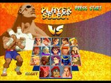 Street Fighter Alpha 2 Gold [PS1] play as SF2 Sagat