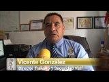 Vicente Gonzáles, Director de Transito Municipal da unas recomendaciones a la ciudadania