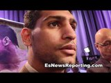 Amir Khan: I Won't Be Sparring Manny Pacquiao