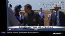 Emmanuel Macron habillé en pilote de l'air, hilarant avec la musique de Top Gun ! (Vidéo)