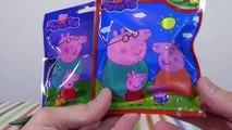 Des sacs aveugle porc jouets avec avec Peppa Pig sacs jouets surprennent Peppa