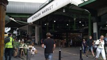 Borough Market: Police receive gifts for their heroism