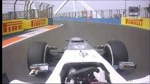 F1 Valencia 2012 Kamui Kobayashi Onboard