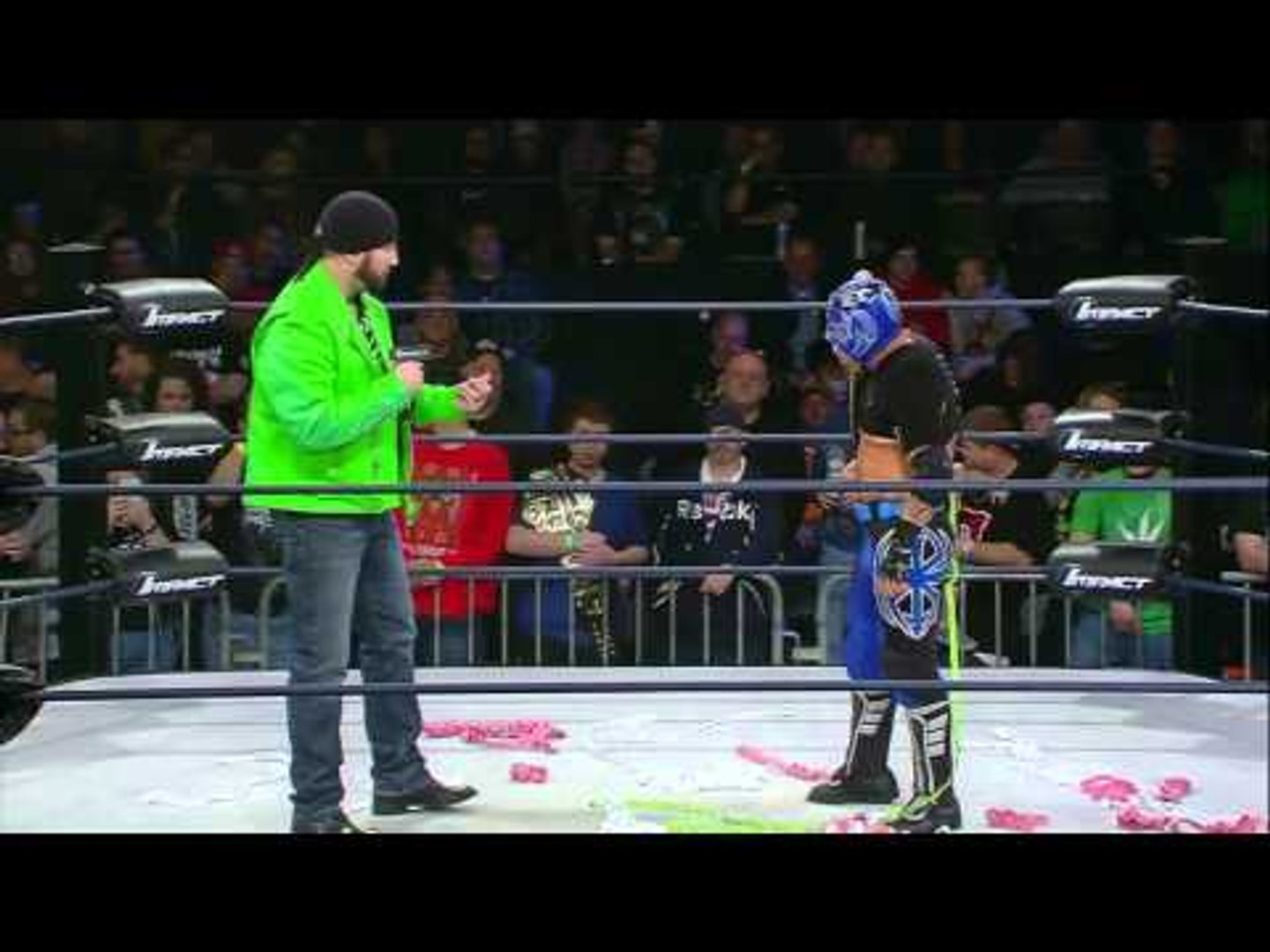IMPACT on POP: Shane Helms Delivers Message to Tigre Uno (1/26/16)