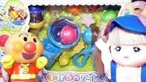 Bébé poupée souper cuisine Faire du shopping dans les achats jouer ❤︎ supermarché faire semblant dans les jouets Mel-chan Anpanman ❤︎ votre sketch de Miseya ♪ réfrigérateur panier maison de jeux