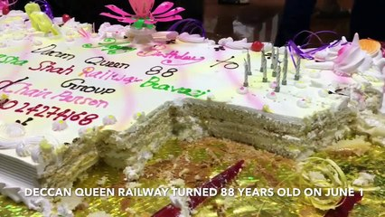 The Deccan Queen completed 88 years of operation