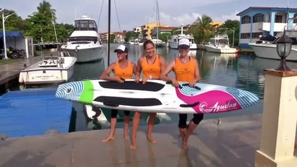 Three U.S. women attempt to paddle board from Cuba to Florida