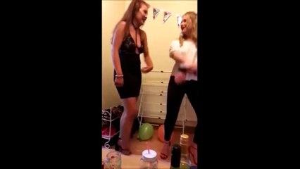 Elle a faillit se tuer en dansant... FAIL douloureux
