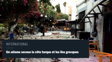 Un séisme secoue la Turquie et les îles grecques