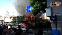 Two killed, 55 injured in gas explosion in China