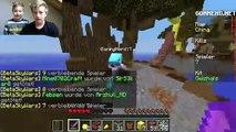 SkyWars und BedWars Runde! Lets Play Minecraft GommeHD Online Ash und Max TipTapTube Kind