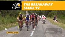 20 coureurs dans l'échappée / 20 riders in the breakaway - Étape 19 / Stage 19 - Tour de France 2017