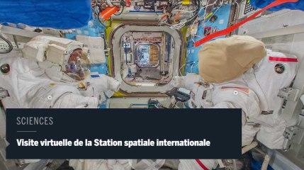 Grâce à Thomas Pesquet, visitez virtuellement de l'ISS