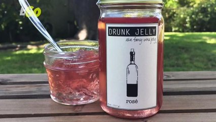 Upgrade Your PB&J Sandwich with Rosé Jelly