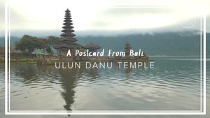 A Historic Temple in Bali