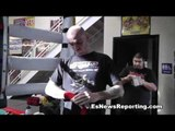 Kelly Pavlik Pranks Fighter Puts A Snake In His Gym Bag