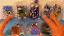 1996 DISNEYS OLIVER and COMPANY SET OF 5 BURGER KING KIDS MEAL MOVIE TOYS VIDEO REVIEW